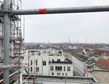 Gerüst in Wien